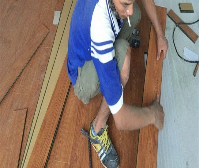 thi công sàn gỗ, san go,Thi công sàn gỗ công nghiệp giá rẻ