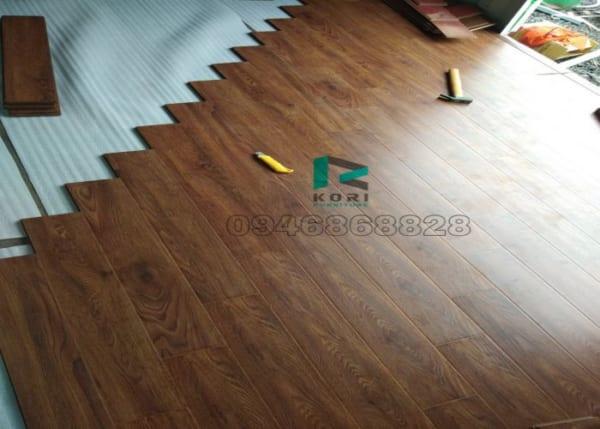 Thi công sàn gỗ công nghiệp tại Nam Định