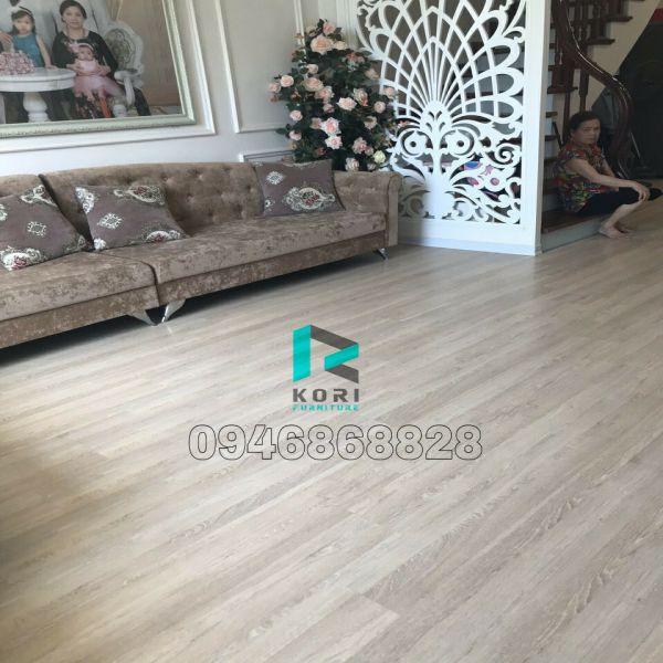 Sàn nhựa giả gỗ Thái Bình