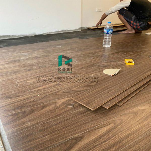 Thi công sàn gỗ công nghiệp Yên Bái
