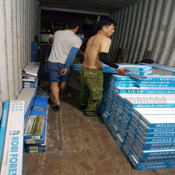Kho sàn nhựa giả gỗ Bắc Giang