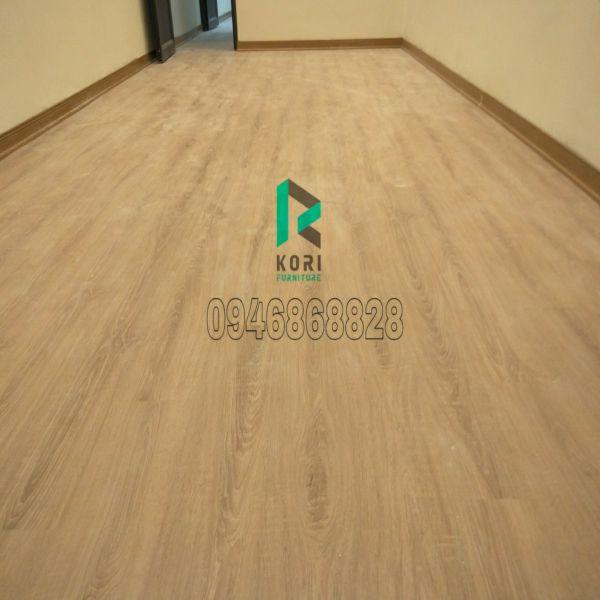Sàn nhựa giả gỗ Koriforest hoàn thiện